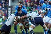 Escocia derriba a Italia